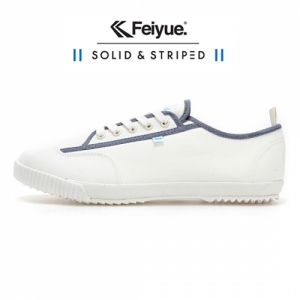 [UNISEX] SOLID AND STRIPED X FE LO / WHITE / F20198W_SIZE:36/41/42