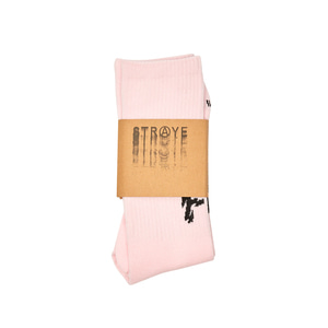 FU SOCKS / LIGHT PINK / CWS60002